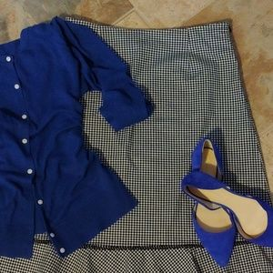 Talbots Gingham Skirt